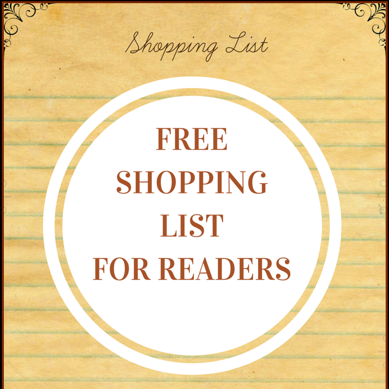 Free shopping list