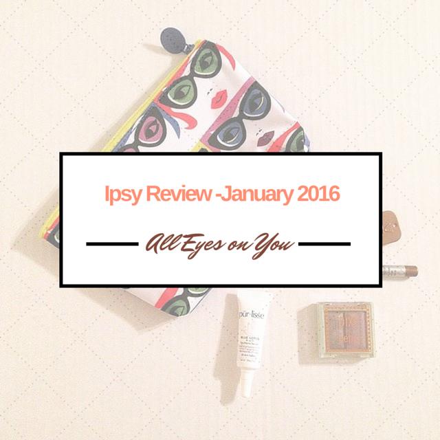 Ipsy January 2016