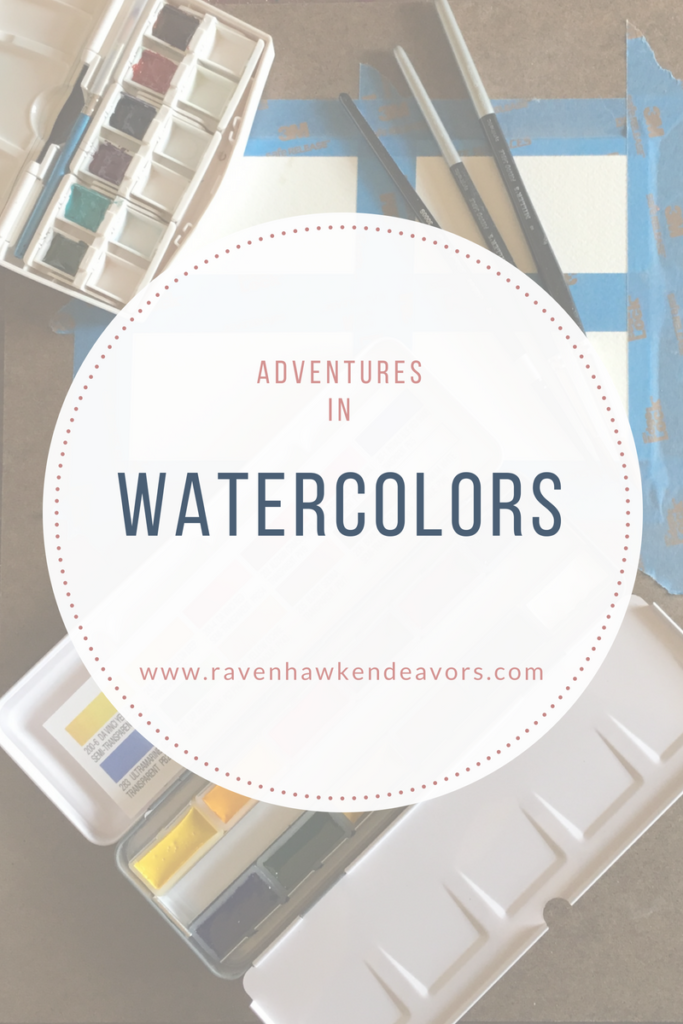 Inspiring Adventures in Watercolor 1