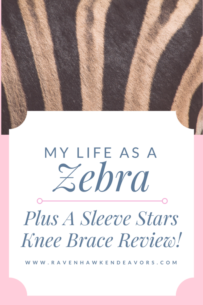 My Life As An EDS Zebra - Plus A Sleeve Stars Knee Brace Review 1